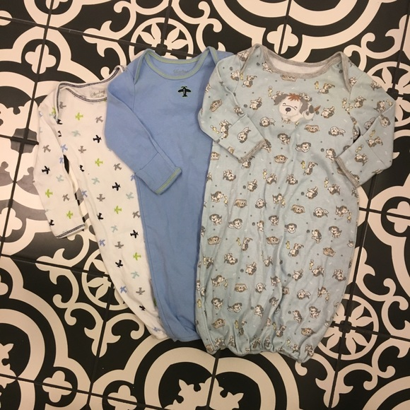 Other - Set of 3 Newborn Nightgowns